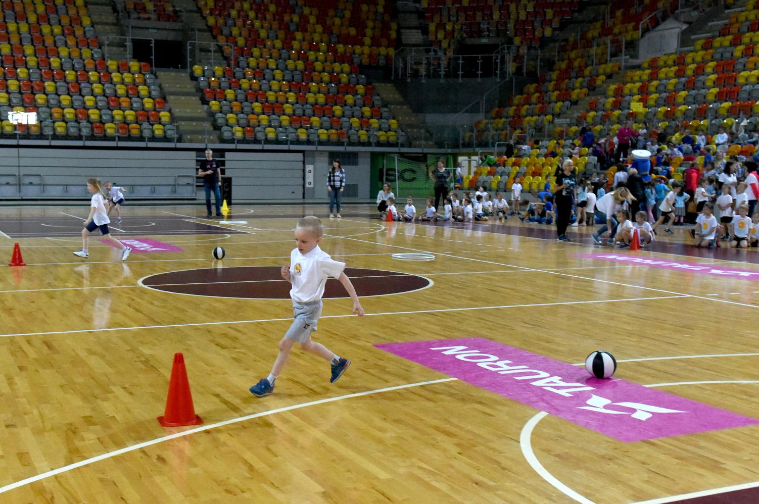 Przedszkolaki sport